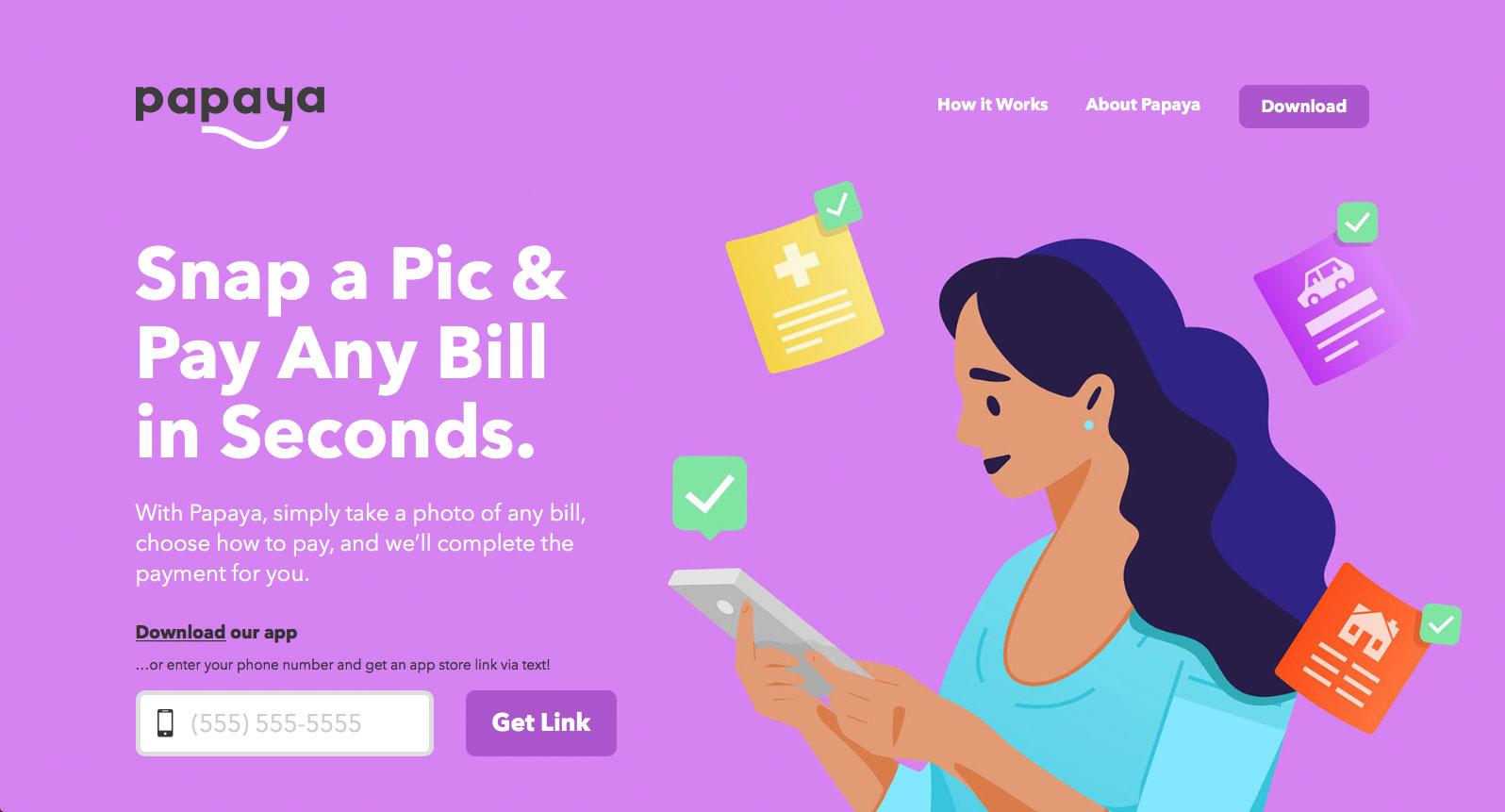 Papaya - A Better Way to Bill Pay